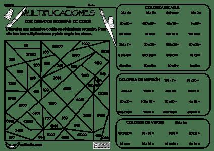 Collection of Actiludis Actividades Multiplicacin