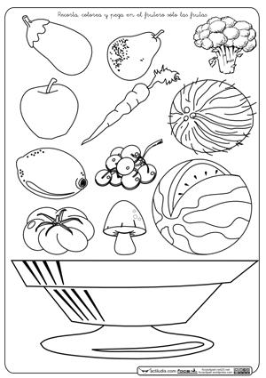 Frutas Y Verduras Actiludis