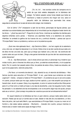 """Cuento corto: """"El cuento sin final"""" - Actiludis"""