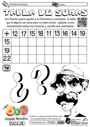 Todas las actividades de la Olimpiada Matemática-1