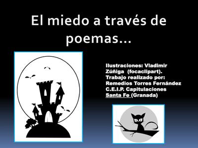 El miedo a través de poemas