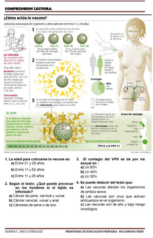 TEXTOS COMPRENSION LECTORA-Vacunas