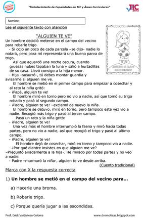 LECTURA ALGUIEN TE VE-1