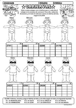 Dividendo 4 cifras y divisor 1 cifra 03