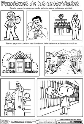 Funciones de las autoridades