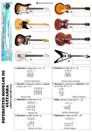 Modelos de guitarras