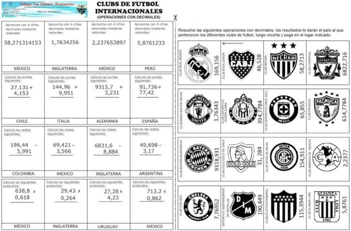 CLUBS DE FUTBOL