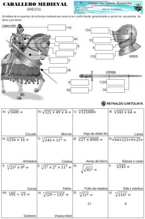 Caballero medieval - Raices