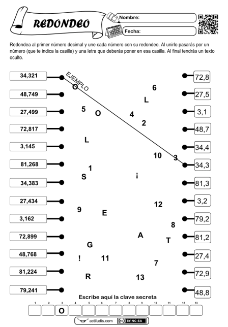 Redondeo de decimales 01
