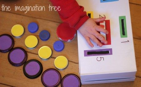 count and sort box with lids