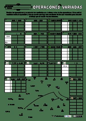 Operaciones Variadas-decimales-tiempo 14