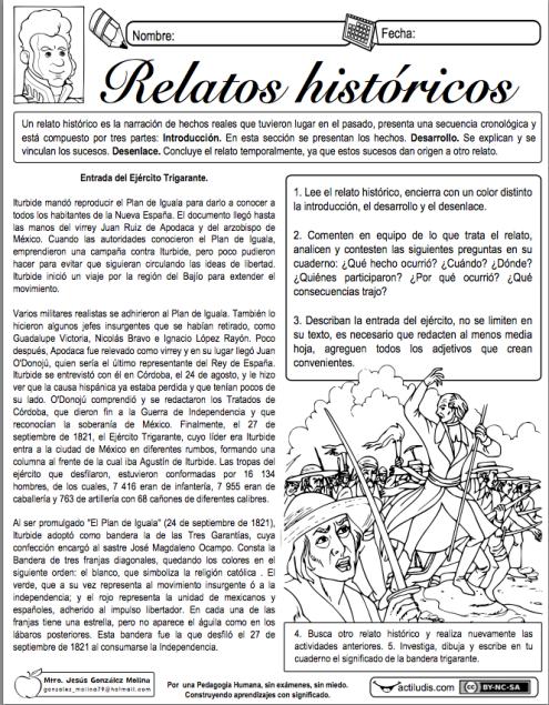 relato histótico