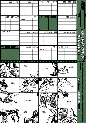 Operaciones Variadas-decimales-tiempo 16