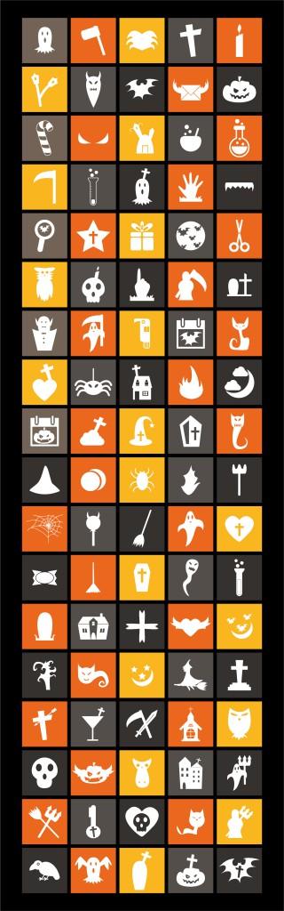 free-flat-halloween-icons