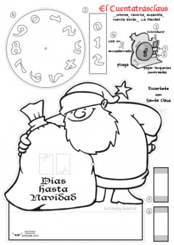El cuenta-atras-Claus