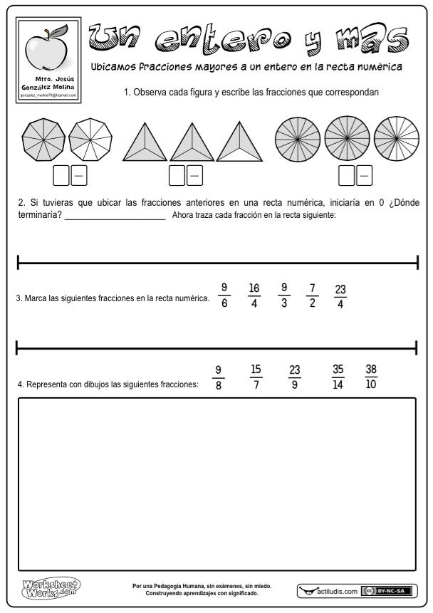 problemas de rectas numericas