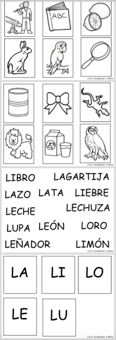 imagen letra L