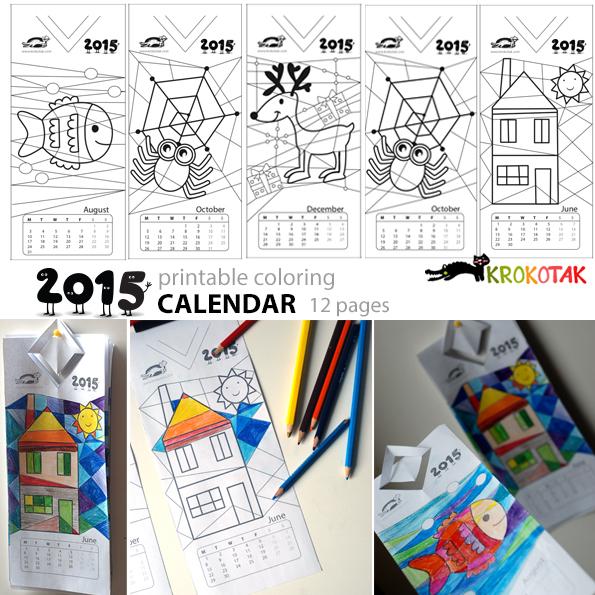 Calendario Infantil 2