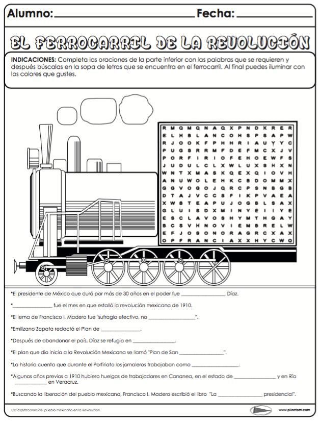 El ferrocarril de la revolución