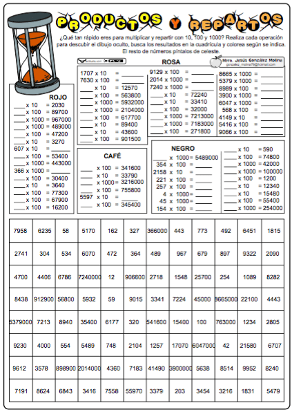 ejercicios divisiones con decimales pdf
