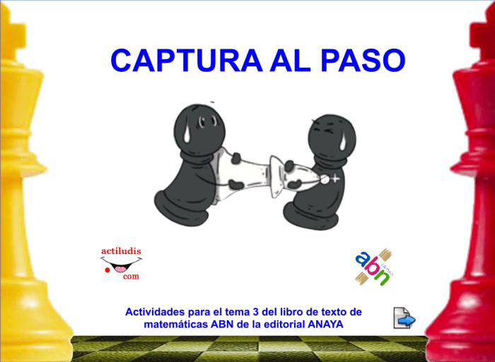 CAPTURA AL PASO