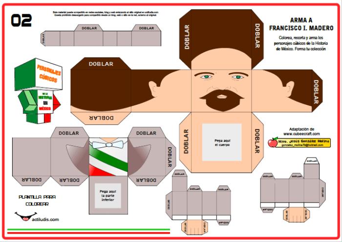 Personajes Mexicanos Al Estilo Cube E Craft I Actiludis