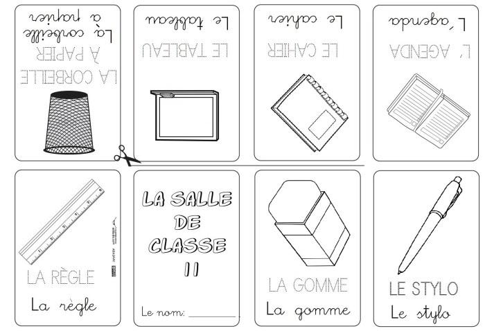 Mini libros y vocabulario en Francés II - Actiludis