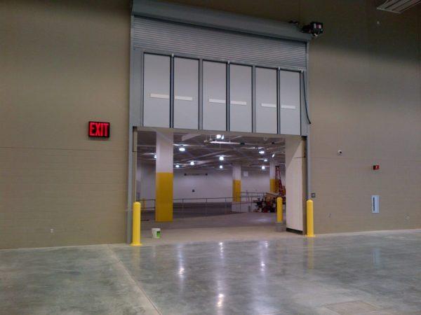 Commercial Garage Doors  Action Door  Garage Door Company