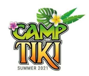Camp Tiki Summer 2021 Logo
