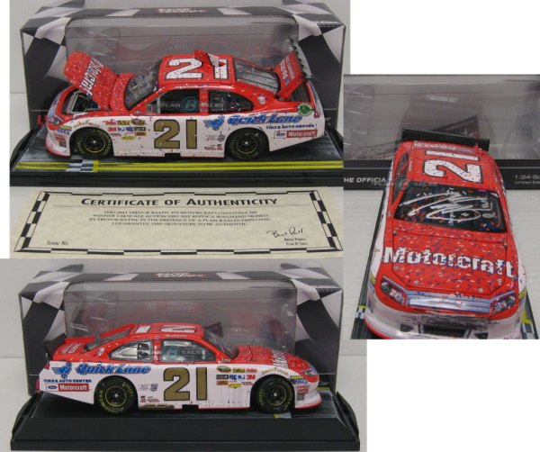 Trevor Bayne Nascar Diecast Wood Brothers Collectibles