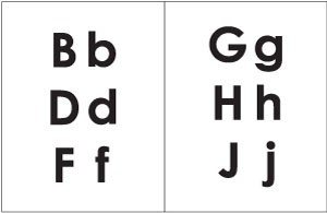 Phonics Instruction Audio CDs and Mini-Chart Samples from