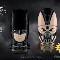 "Introducing Batman ""The Dark Knight Rises Edition"", Bane (SDCC exclusive), Superman, & Flash MIMOBOT Designs!"