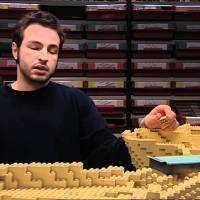 LegoLand Star Wars MiniLand Time-Lapse Build Video