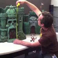 Video: 2013 Castle Grayskull Measurements