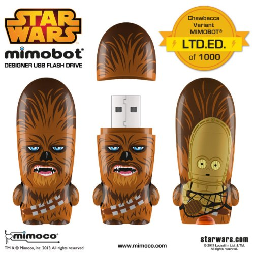 Star Wars Chewbacca Variant LTD.ED. MIMOBOT
