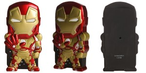 Iron Man Glowing Eyes Chara-Brick