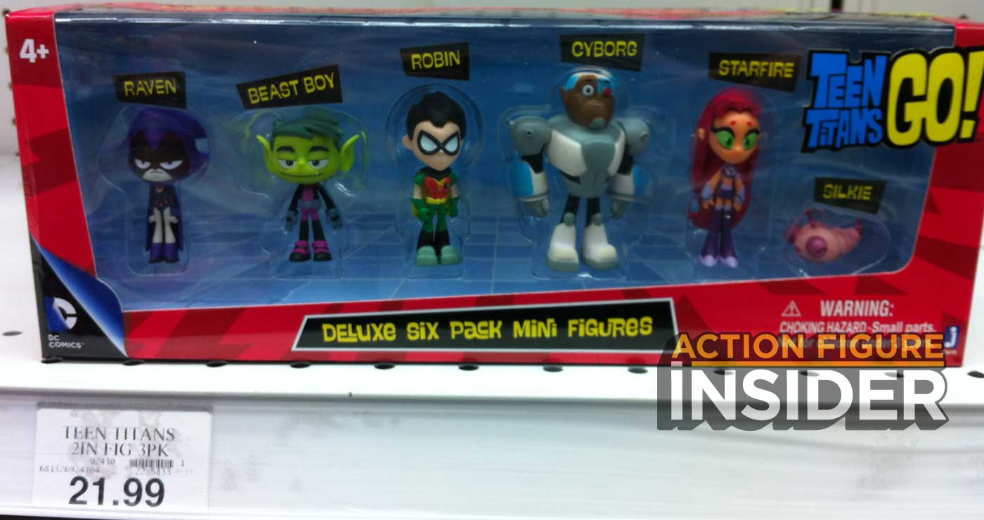 Action Figure Insider  Jazwares Teen Titans Go Line -7809