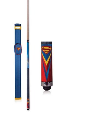 SupermanIconic_PoolCue