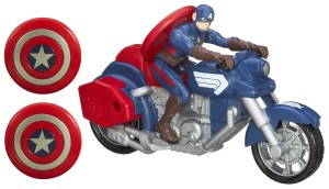 CAPTAIN AMERICA SHEILD BLAST MOTORCYCLE A3601