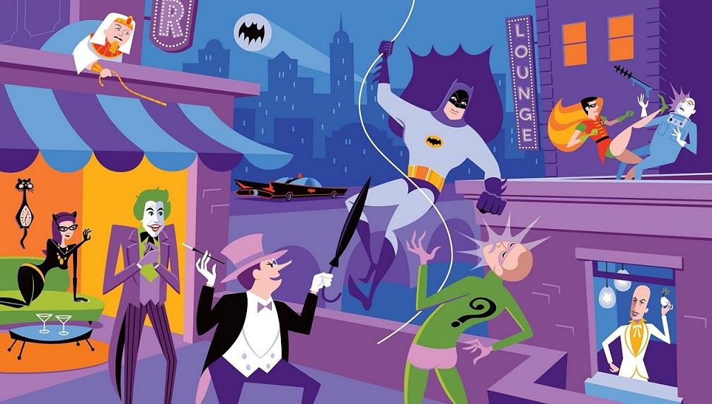 Action Figure Insider HOLY ARTWORK BATMAN ITS SHAG X