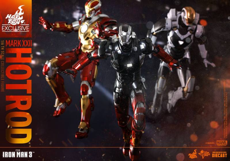 Action Figure Insider » Hot Toys\' Iron Man 3: 1/6th scale Hot Rod ...