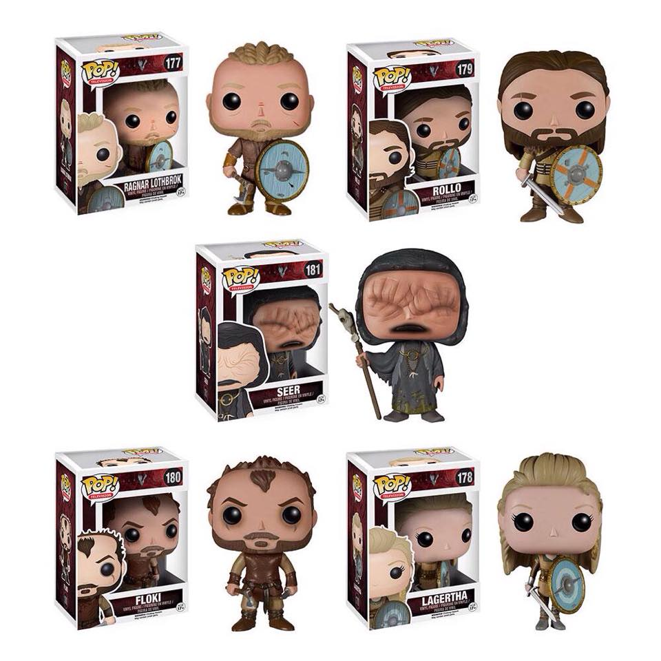 Action Figure Insider 187 Pop Television Vikings From