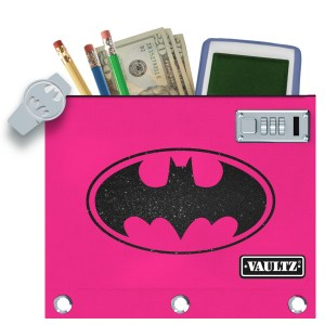Vaultz Batgirl Locking Binder Pouches