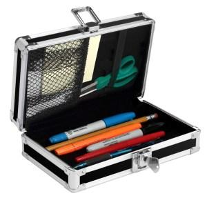 Vaultz Batman Locking Pencil Boxes open
