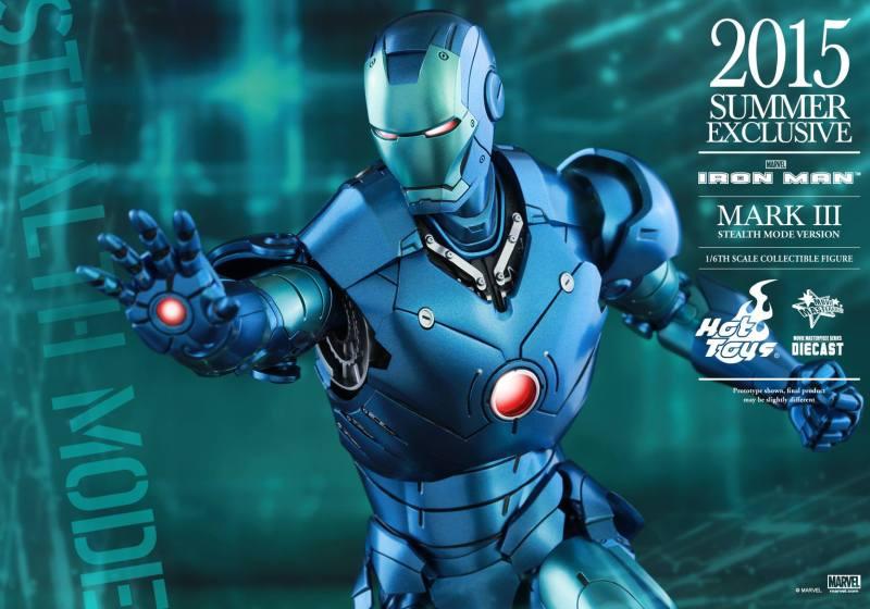 Action Figure Insider » 1/6th scale Iron Man Mark III