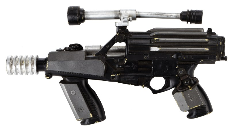Lot 1562--Star Wars Episode 1 - The Phantom Menace Naboo blaster