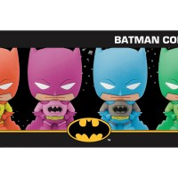 Batman Rainbow Colors 3D Foam Keyring