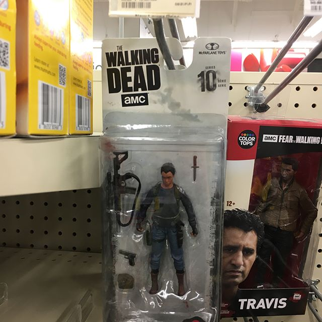 That moment when you walk into a @walgreens and find a @mcfarlane_toys_official #thewalkingdead exclusive #actionfigure you didn't know existed. #sasha - from Instagram