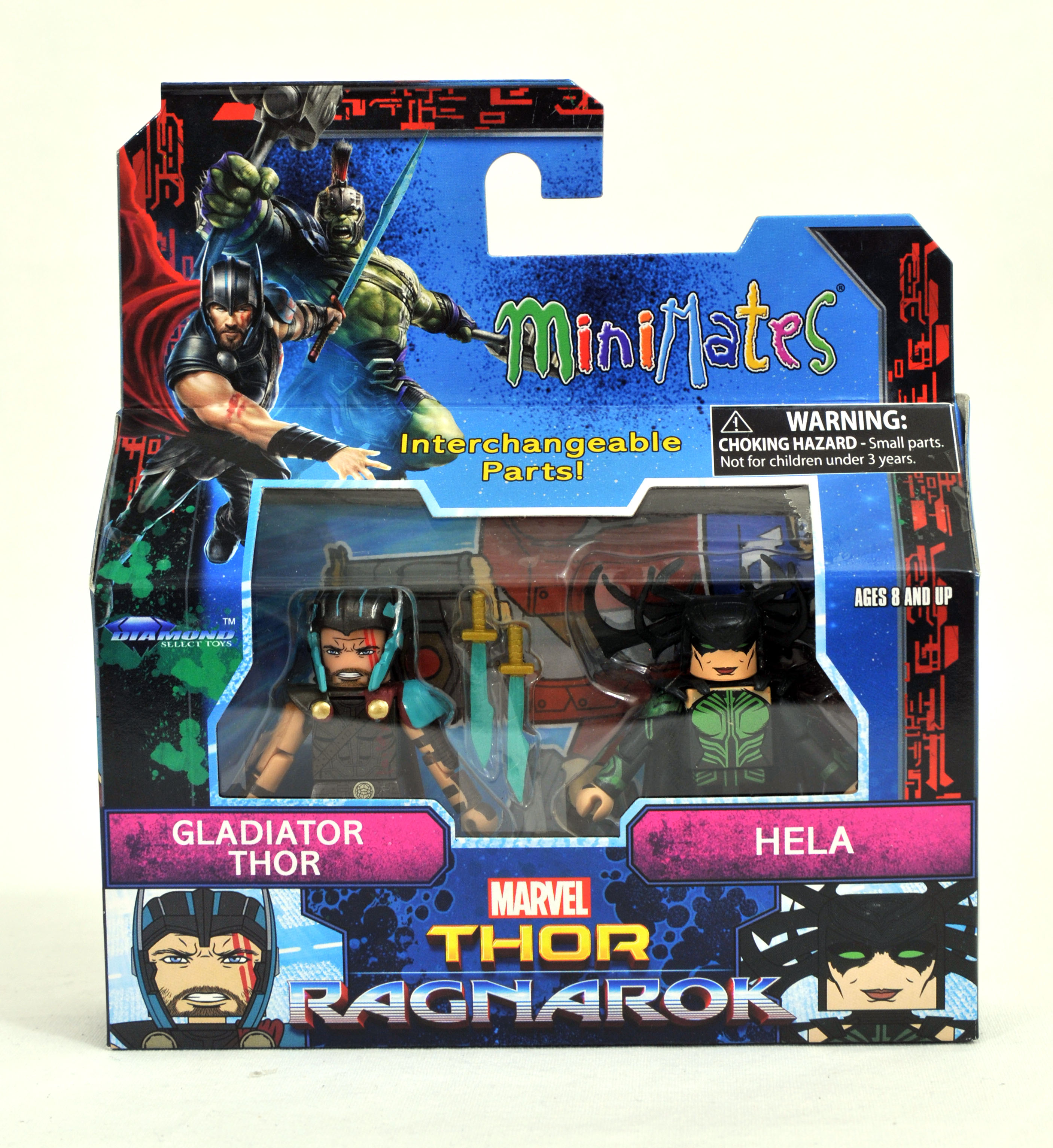 Marvel Minimates TRU Toys R Us Thor Ragnarok Film Valkyrie