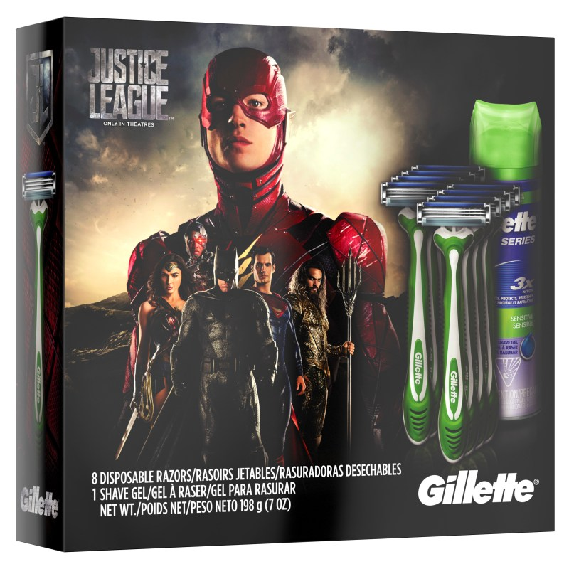 """Action Figure Insider » Gillette Teams Up With """"Justice ..."""